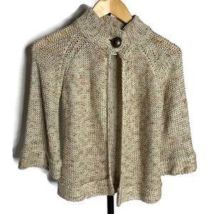 Vertigo Paris Knit Button Bell Sleeved Cardigan